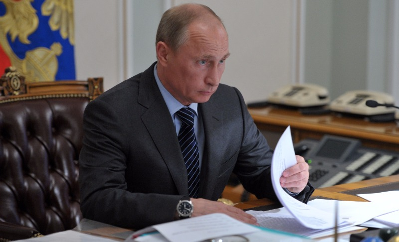 Путин поблагодарил банкира, нефтяников и строителей Московского центрального кольца