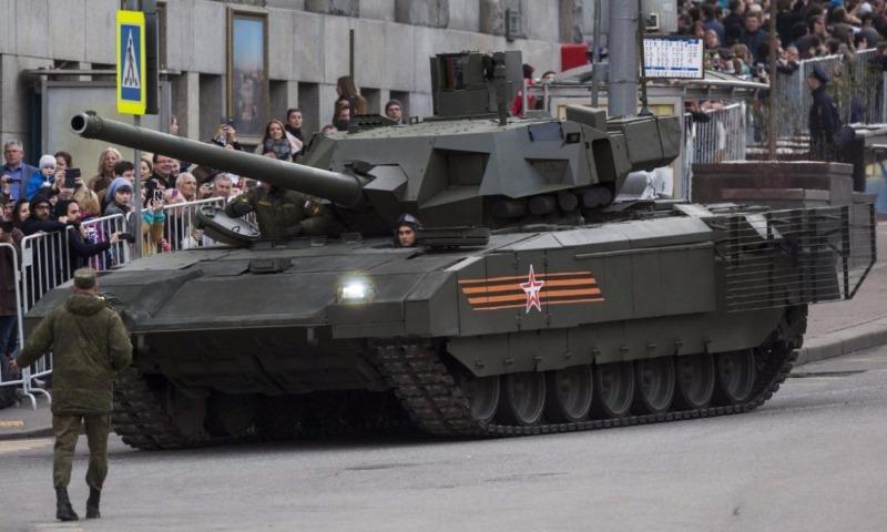 Военно-политическое издание США оценило превосходство танка «Армата»