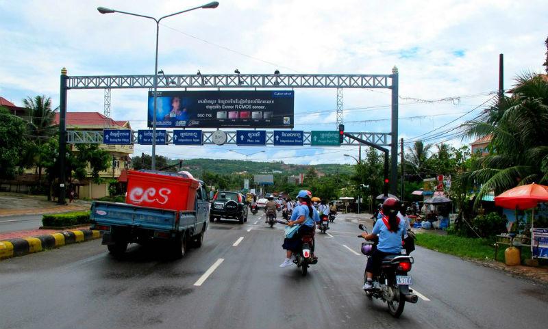 Пьяный россиянин сбил на машине мотоцикл с нетрезвыми камбоджийцами и был избит разгневанной толпой