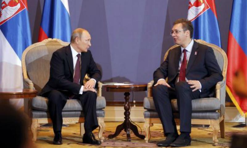 Путин поздравил победившего на выборах в Сербии сторонника дружественных отношений с Россией