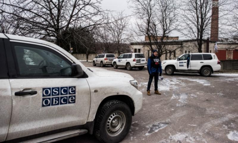Наблюдатель ОБСЕ подорвался на территории Луганской Народной Республики