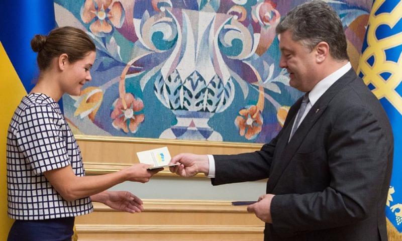 Вне штата: Гайдар стала советником президента Украины Порошенко