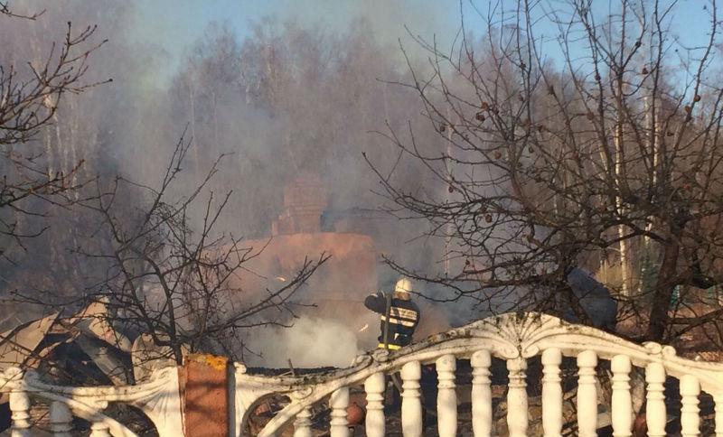 Обезумевший от новостей мужчина с бензопилой сжег деревню в Ленобласти и протаранил пожарные машины