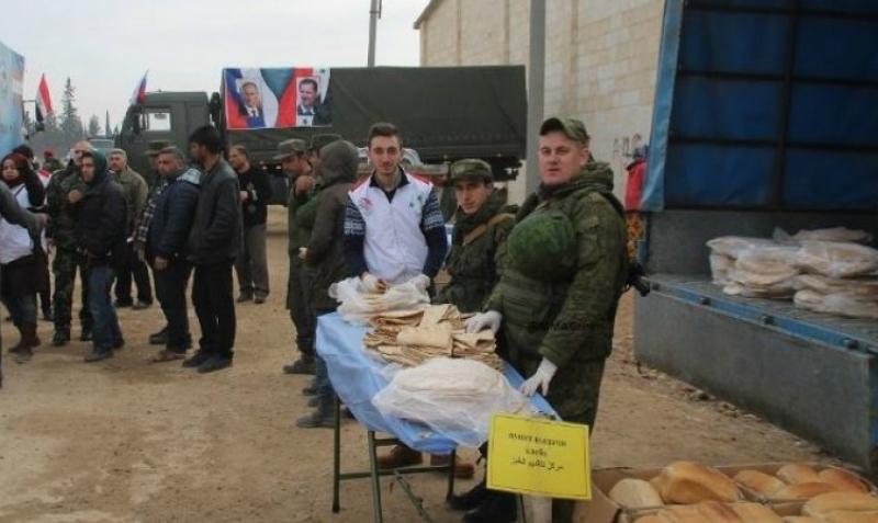 Русские военные обеспечили Алеппо хлебом