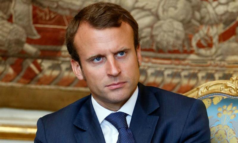 Кандидат в президенты Франции Макрон пообещал «заставить» Путина уважать его