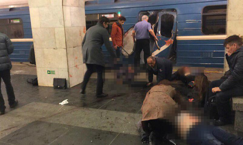Убрата организатора теракта вметро Петербурга изъяли боевую гранату— СКРФ