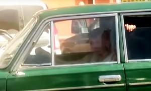 Резонансная езда ребенка за рулем «шестерки» в Новороссийске попала на видео