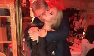 В соцсети опубликовано видео «ненормального» танца Пескова с дочерью Елизаветой