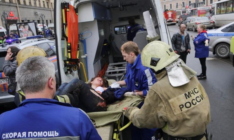 Еще одна пострадавшая при теракте в метро ушла из жизни в институте скорой помощи Санкт-Петербурга