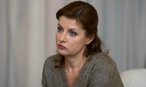 Жена Порошенко решила вести фитнес на украинском телевидении