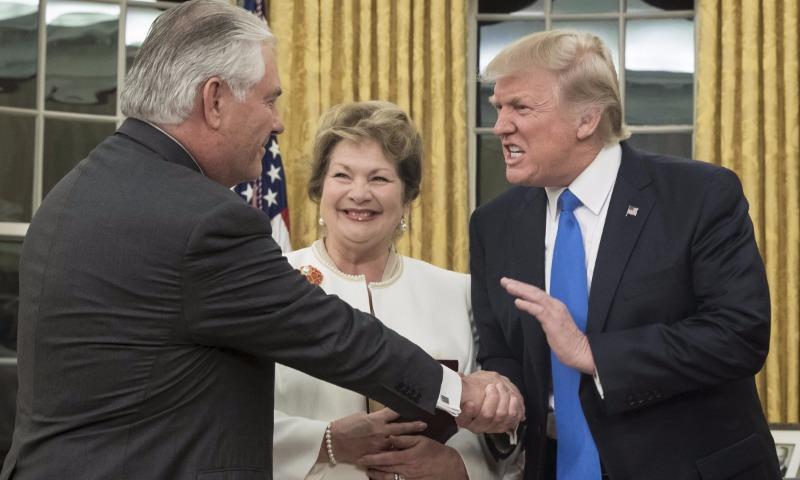 Трамп пообещал «прочный мир» в отношениях между Соединенными Штатами и Россией