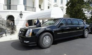 «Зверь» Дональда Трампа не влез в ворота короля Бельгии