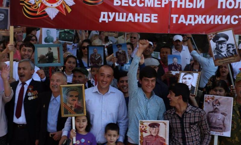 В Душанбе провели акцию