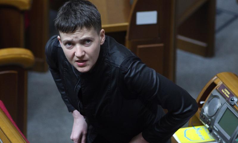 Савченко назвала убивающих свой народ в Донбассе участников АТО «быдлом» и «отребьем»