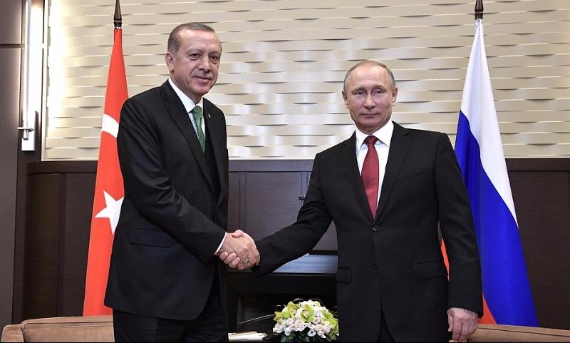 Путин иЭрдоган обсудили вопросы снятия торговых ограничений