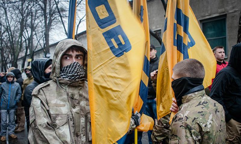 Радикалы из Николаева избили воинов-афганцев за отказ идти с ними в одной колонне 9 мая