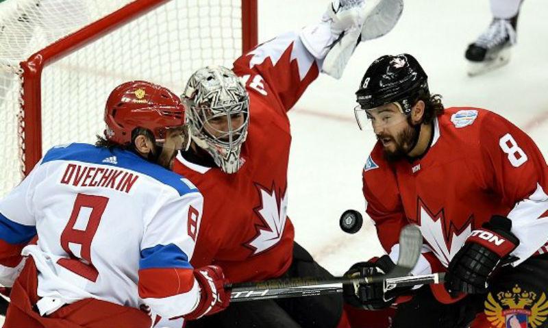 Россия дважды забила Канаде к середине полуфинала на чемпионате мира по хоккею