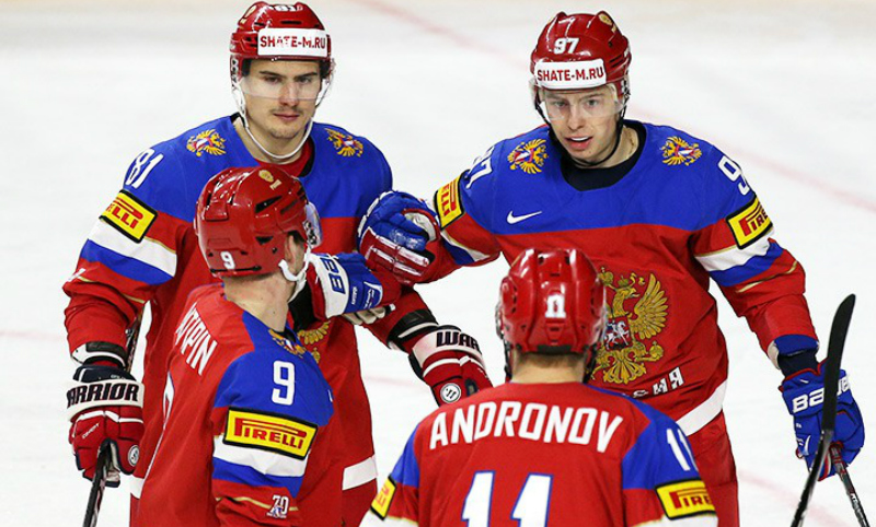 Сборная России второй год подряд увозит «бронзу» с ЧМ по хоккею