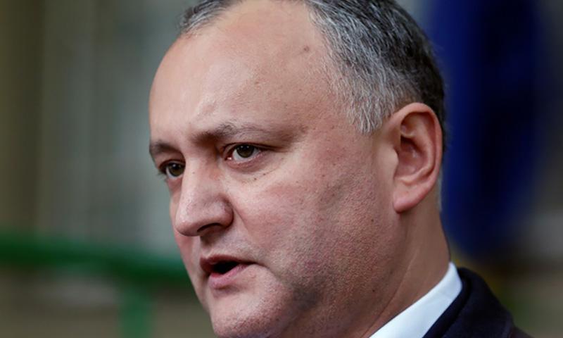 Глава Молдавии: я не президент геев, они упустили шанс выбрать своего представителя