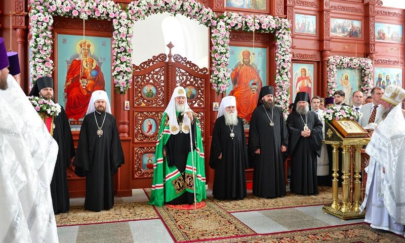 Патриарх Кирилл во время визита в Бишкек поставил законы о гей-браках в один ряд с «фашистскими»