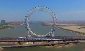 В Китае построено самое высокое в мире колесо обозрения без спиц