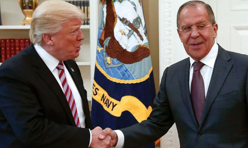 Лавров назвал Трампа и его администрацию
