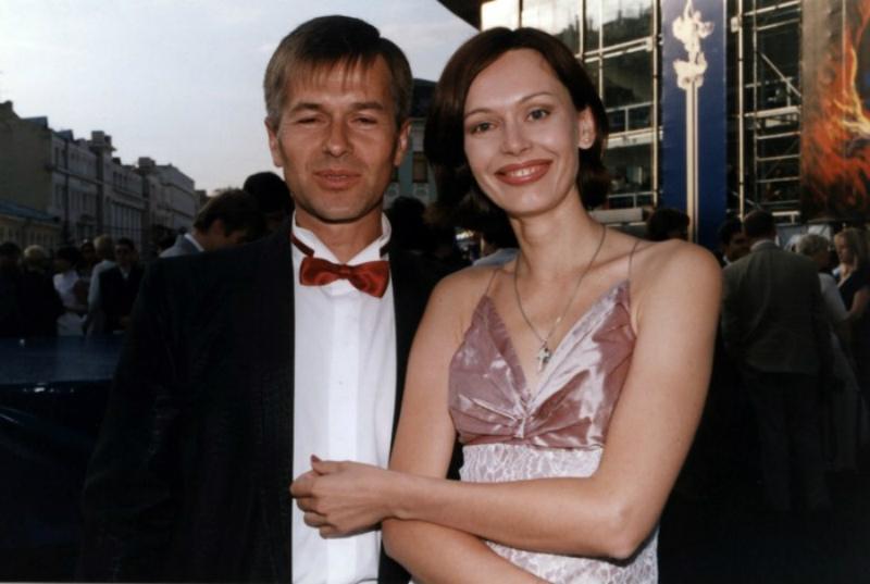 С первым мужем Игорем Ливановым