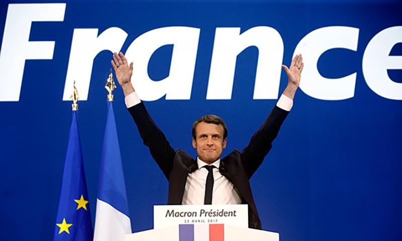 Ле Пен поздравила Макрона с победой на президентских выборах
