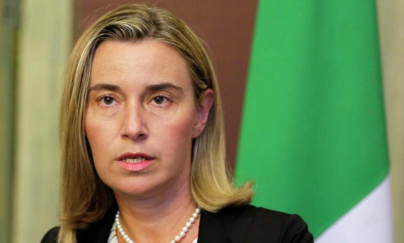 Могерини заявила о переходе лидерства в решении мировых проблем от США к Евросоюзу