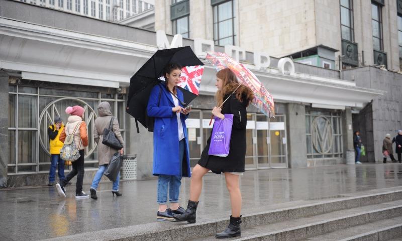 Потепление до18 градусов придет в столицу России ксередине следующей недели