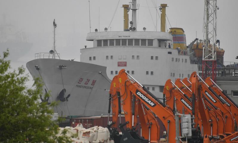 Первый паром из КНДР прибыл во Владивосток с представителями китайского турбизнеса на борту