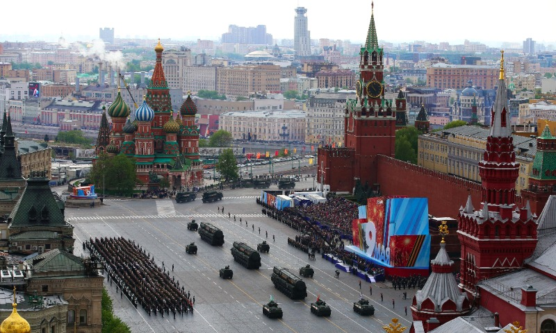 День Победы в российской столице обойдется государству в456млнруб.
