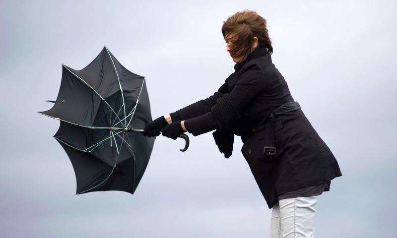 Штормовое предупреждение из-за усиления ветра объявили синоптики в центральном регионе