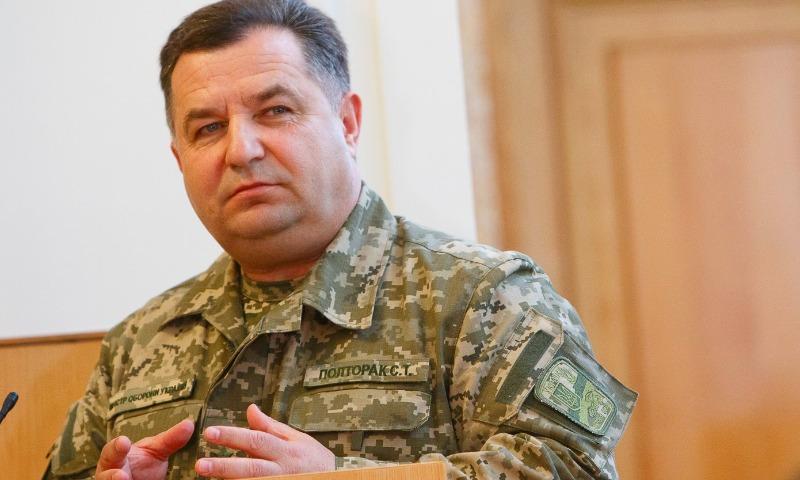 Министр обороны Украины заявил о нежелании Киева силовым путем возвращать Луганск и Донецк