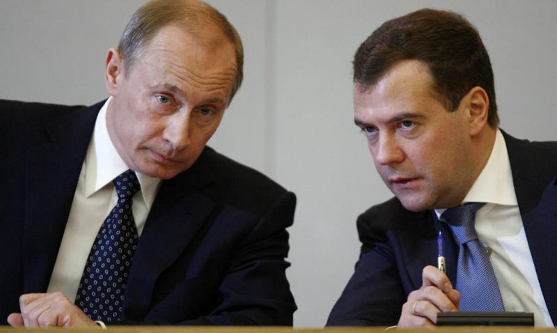 Медведев представил Путину план работы правительства до 2025 года