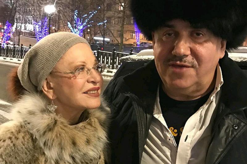 Людмила Максакова и Стас Садальский