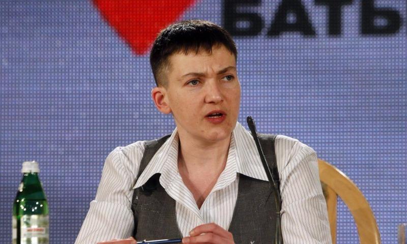 Савченко в письме к Макрону попросила усилить санкции против