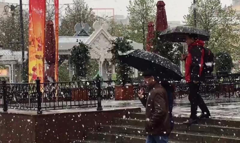 Метеорологи заявили о вероятности выпадения в конце недели снега в столичном регионе