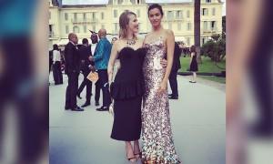 Ксения Собчак позавидовала красоте Ирины Шейк