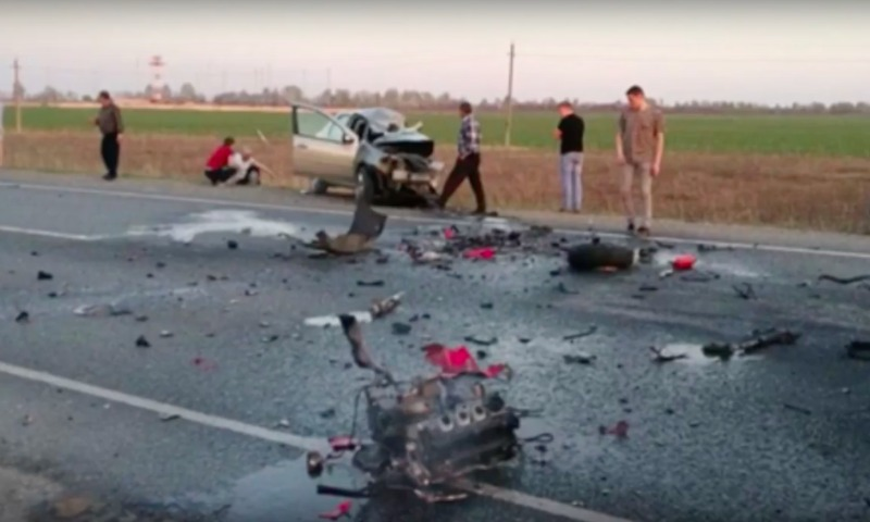 Смертельное ДТП с участием игумена-мотоциклиста в Ульяновской области попало на видео