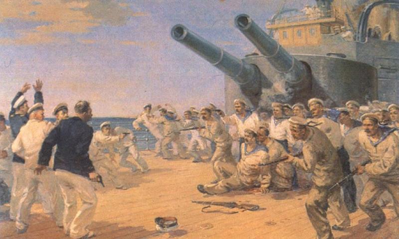 Календарь: 27 июня - День бунта на броненосце