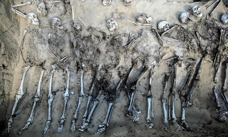 Поляки отыскали «кричащие скелеты» русских солдат