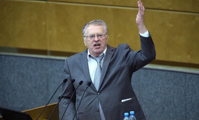 Жириновский предложил защищать мужчин вместо женщин