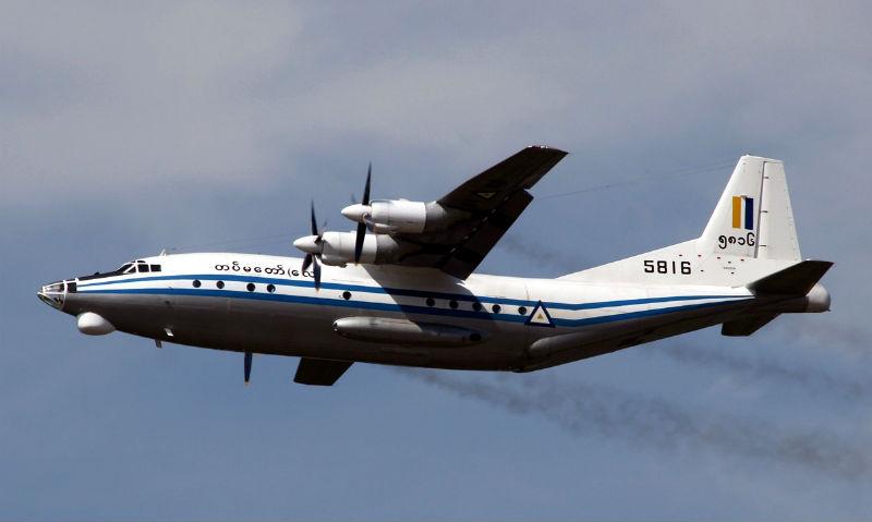Найдены обломки разбившегося военного самолета в Мьянме