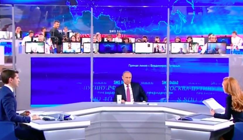 Владимир Путин анонсировал индексацию зарплат всех бюджетников Российской Федерации