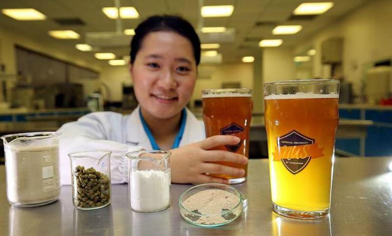 Полезное пиво со свойствами йогурта сварили ученые в Сингапуре