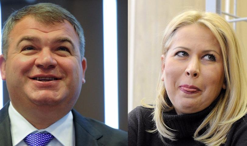 Бывший министр обороны Сердюков взял на работу секретарем любовницу Васильеву
