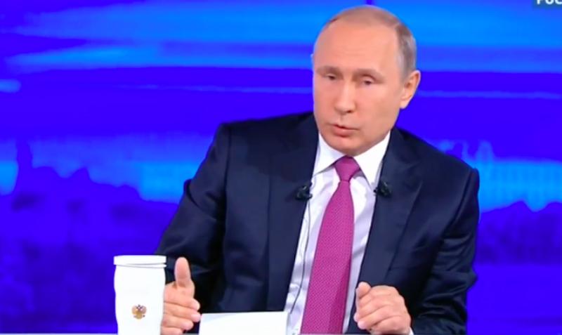Путин ответил на вопрос об экономическом кризисе на