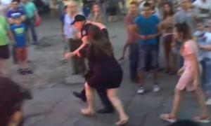 Видео сражения беременных женщин с кишиневской полицией попало в Сеть