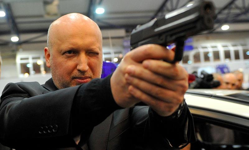Турчинов предложил Порошенко покончить с